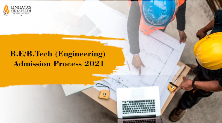 be btech engineering admission process