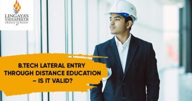 B Tech Lateral Entry Through Distance Education – Is It Valid?