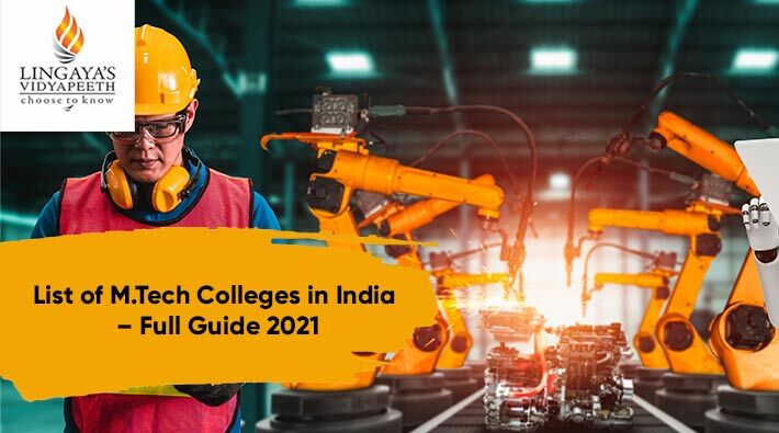 list of mtech colleges in india