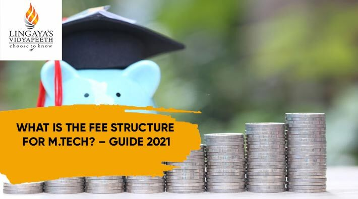 what is the fee structure for mtech