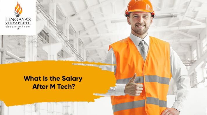 what is the salary after m tech