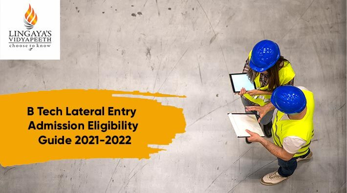 btech lateral entry admission eligibility