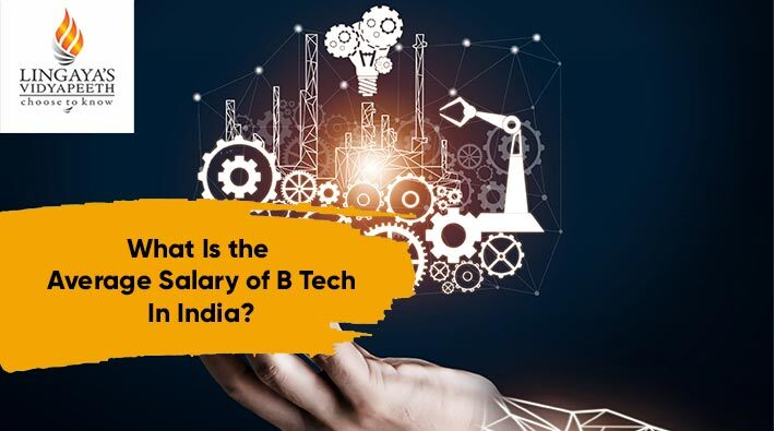 what is the average salary of btech in india